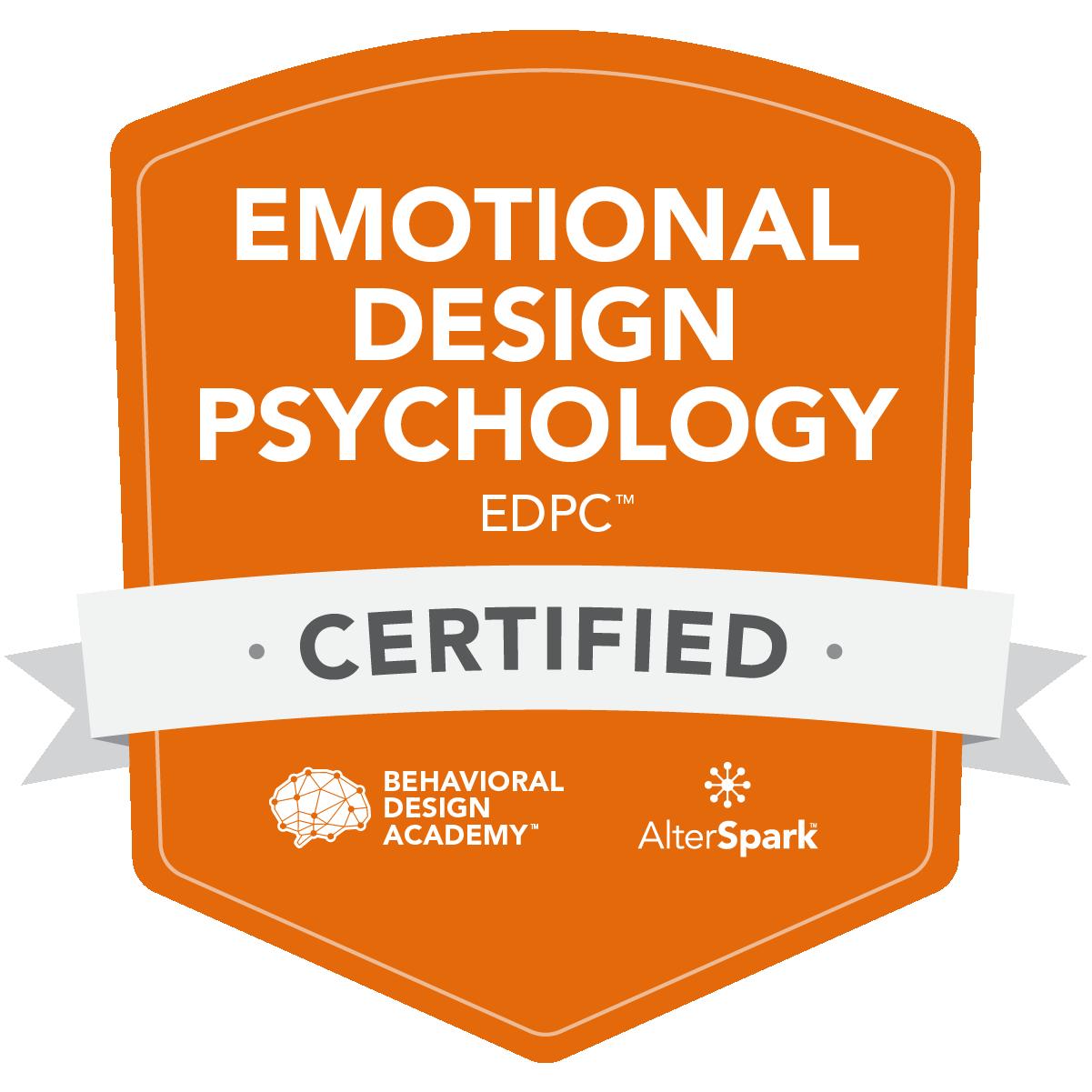 Emotional Design Psychology Certificate