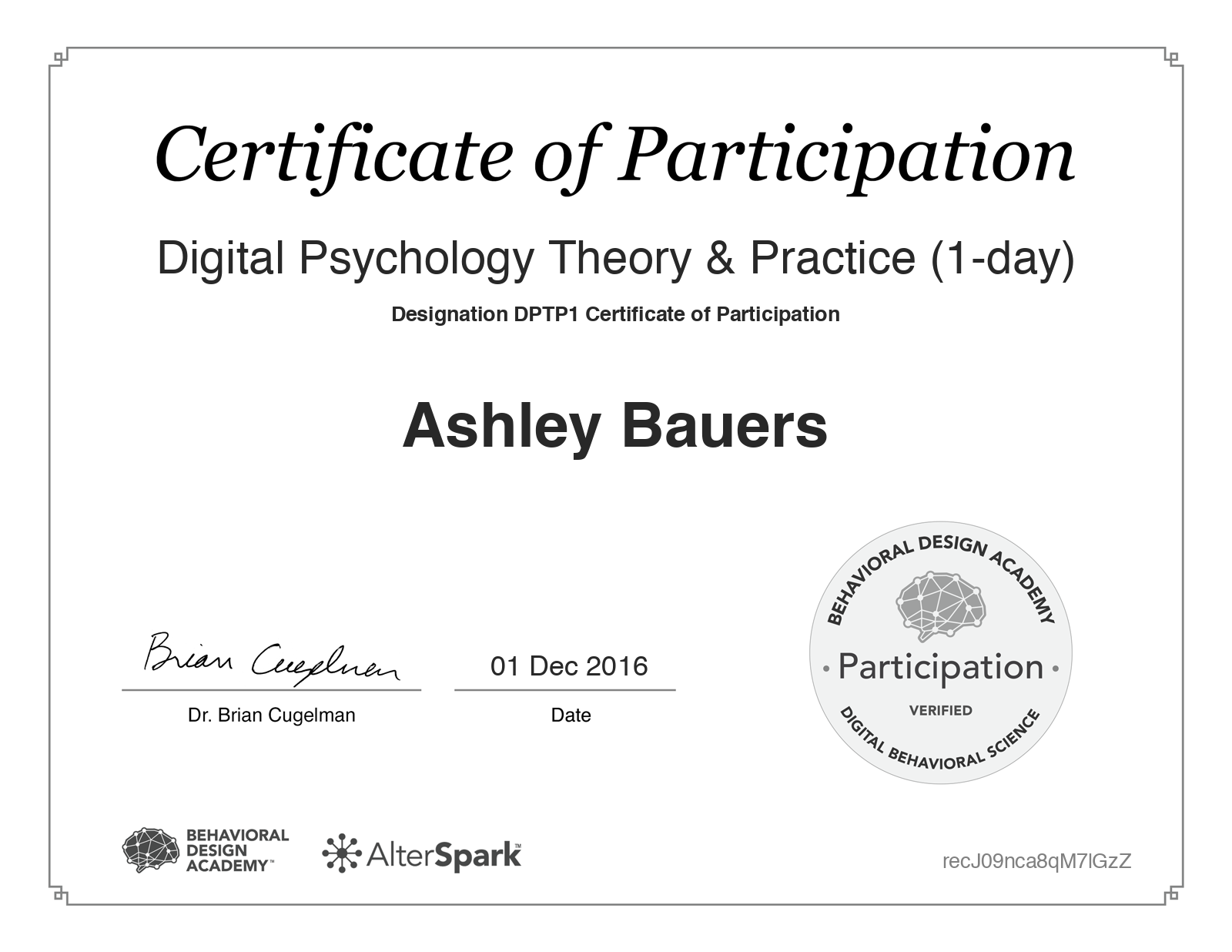 Digital Psychology Theory & Practice (1-day)